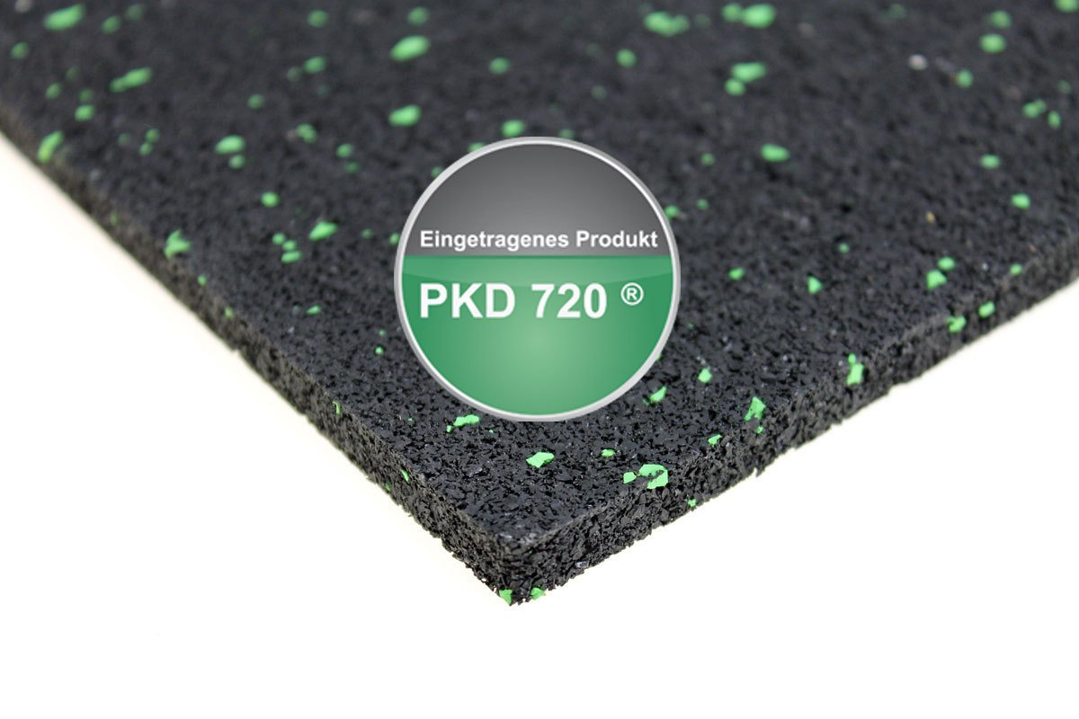 Gummigranulat PKD 720 5000 x 50 x 10 mm Terrassenpad Terrassenbau Rolle Streifen Terrasse Bautenschutzstreifen Terrassenpads