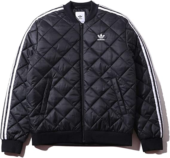 productos quimicos Túnica Anuncio  Amazon.co.jp: Adidas Originals DV2302 SST QUILTED JACKET Quilted Jacket  Black - blk: Clothing & Accessories