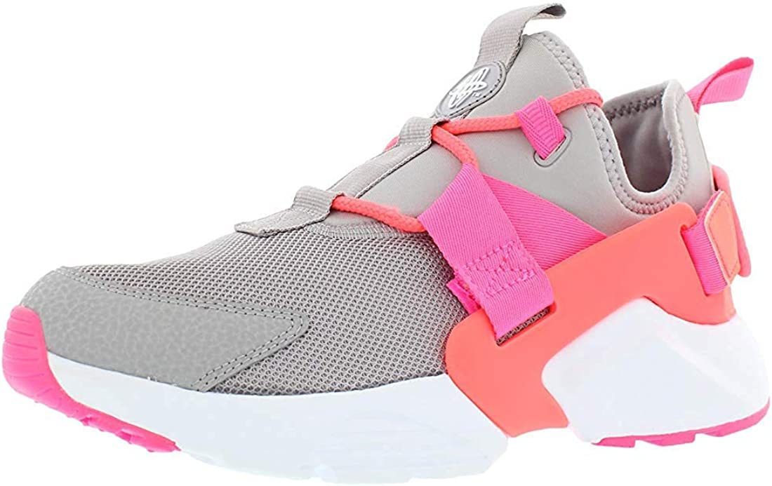 Nike Womens Huarache City Fabric Hight Top Fashion, Pink, Size 6.5