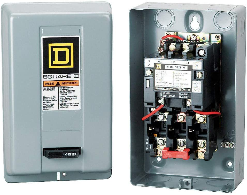 10HP 3 Phase Magnetic Starter Motor Control 208-240V
