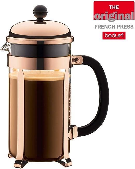 Bodum 1928-18 Cafetera émbolo, Cobre, 1 litro: Amazon.es: Hogar