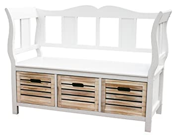 KMH®, weiße Sitzbank \