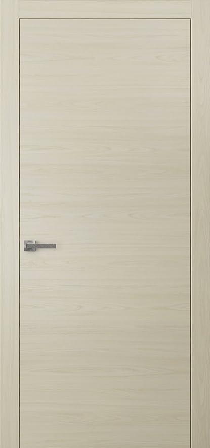 Superieur Planum 0010 Interior Door Milk Ash No Pre Drilled With Trims, Frame, Handle,
