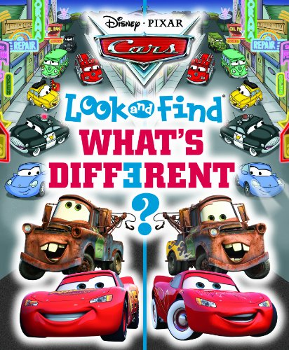 (Disney Cars Look and Find, What s Different?)