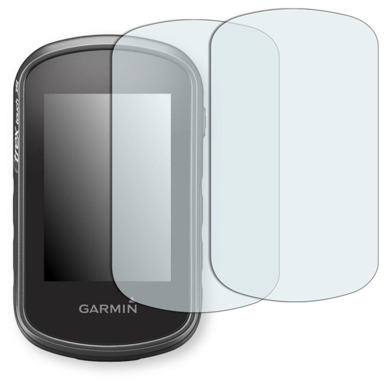 GOLEBO 2X Anti-Glare Screen Protector for Garmin eTrex Touch 35 (Anti-Reflex, Air Pocket Free Application, Easy to Remove)