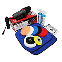 Chemical Guys BUF_209 Porter Cable 7424XP Detailing Complete Detailing Kit with Pads Backing Plate and Accessories (13 Items)