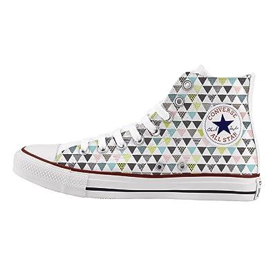 Star Converse Imprimés Personnalisé À All La Et Main Chaussures 80PnwkO