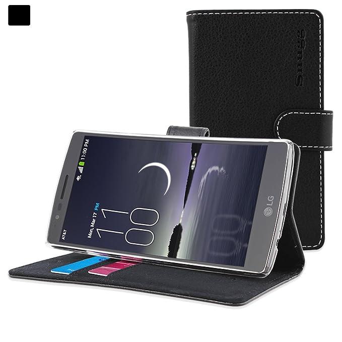 10 opinioni per Cover G Flex 2, Snugg LG G Flex 2 Flip Custodia Case [Slot Per Schede] Pelle