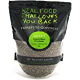 Honest to Goodness Organic Chia Seeds Black, 1 Kilograms