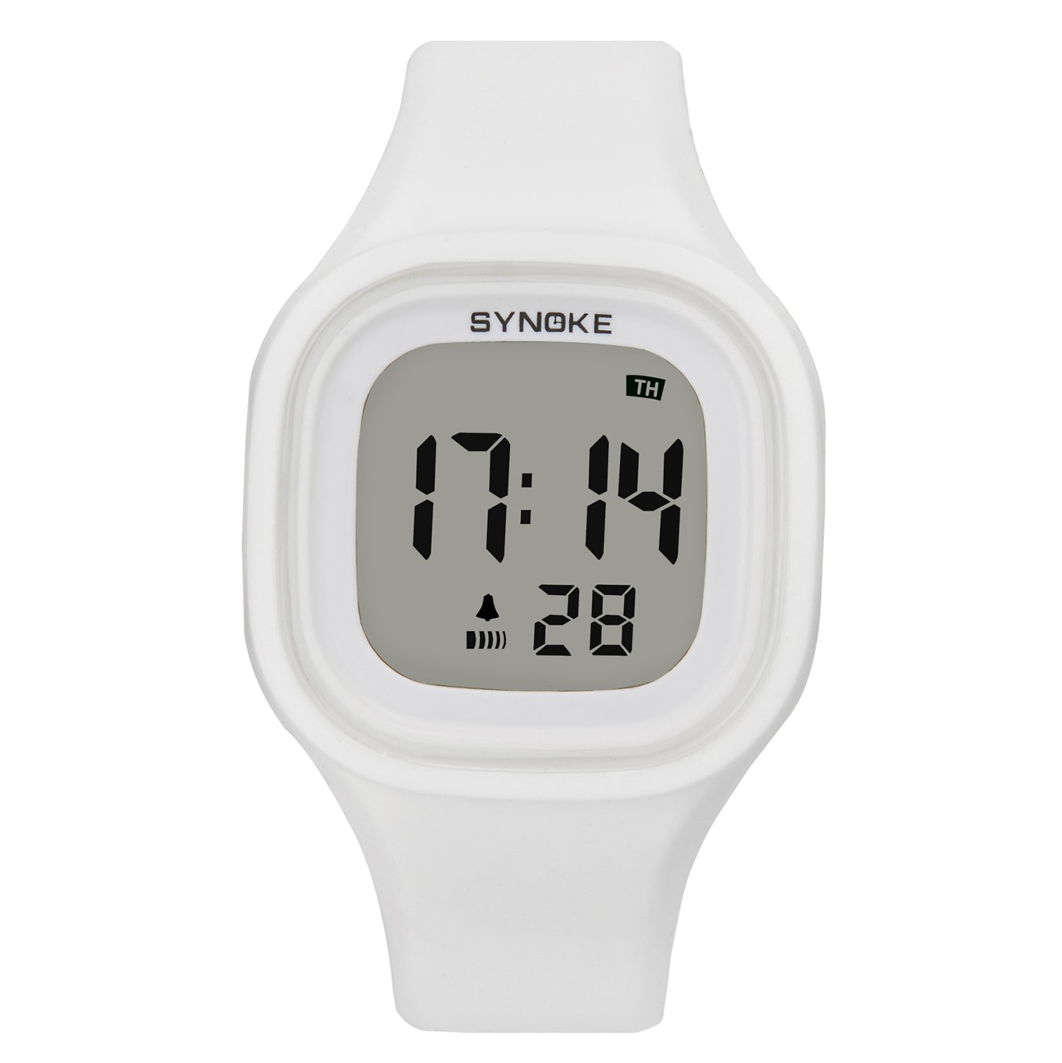 Digital Watch Girl White Sport Kids Outdoor Electrical Children Watches