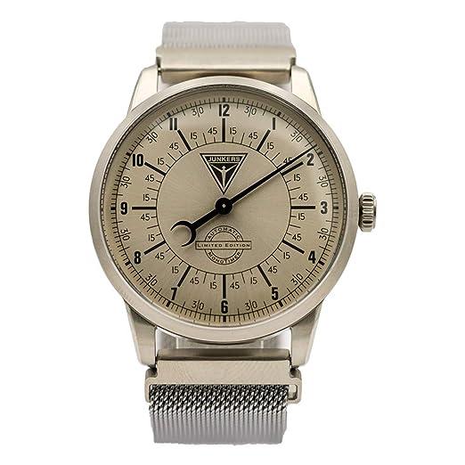 Junkers 6362-1 - Reloj de Pulsera automático para Hombre, diseño de Aviador: Amazon.es: Relojes