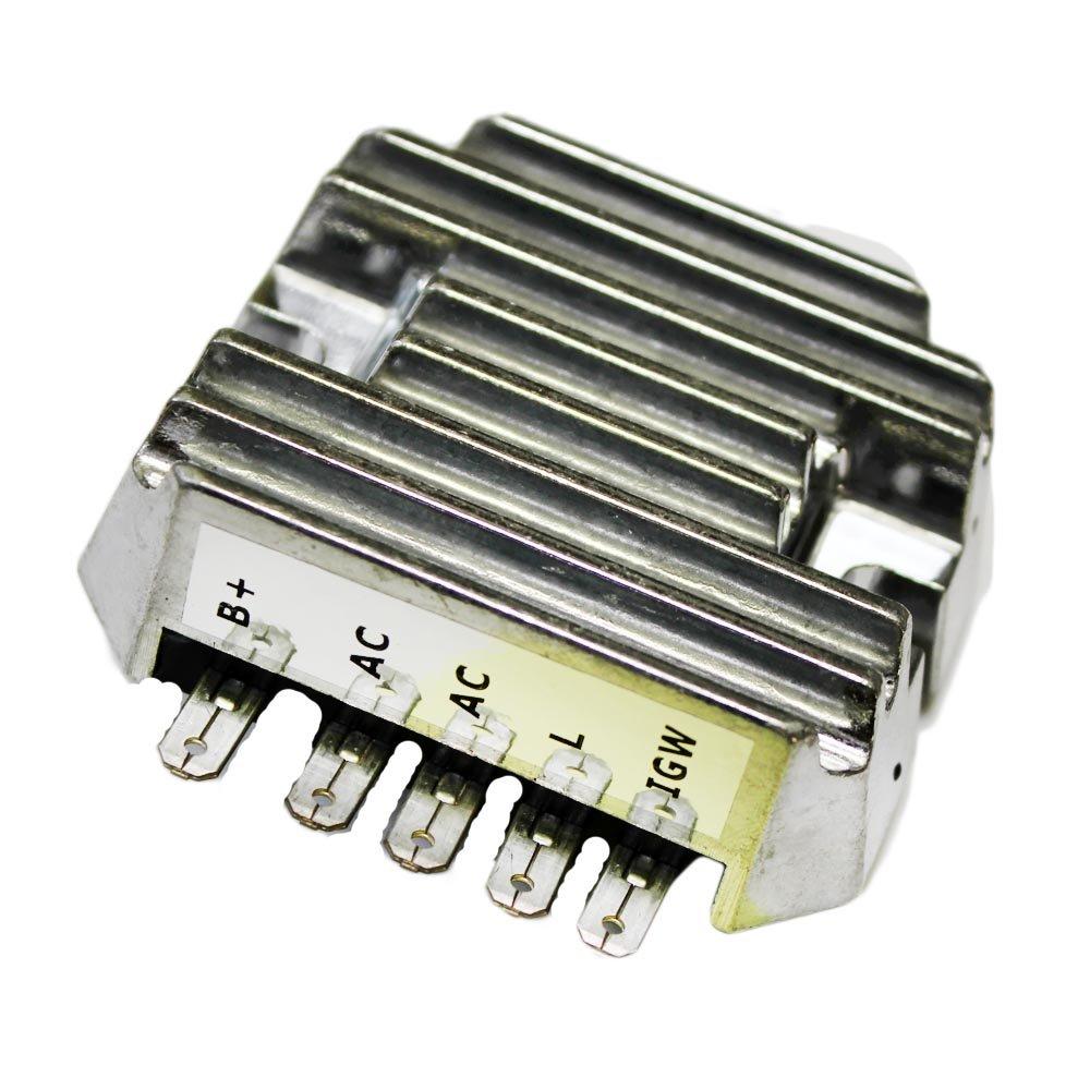 Caltric Regulator Rectifier Fits JOHN DEERE Mower F915 NEW AM101406