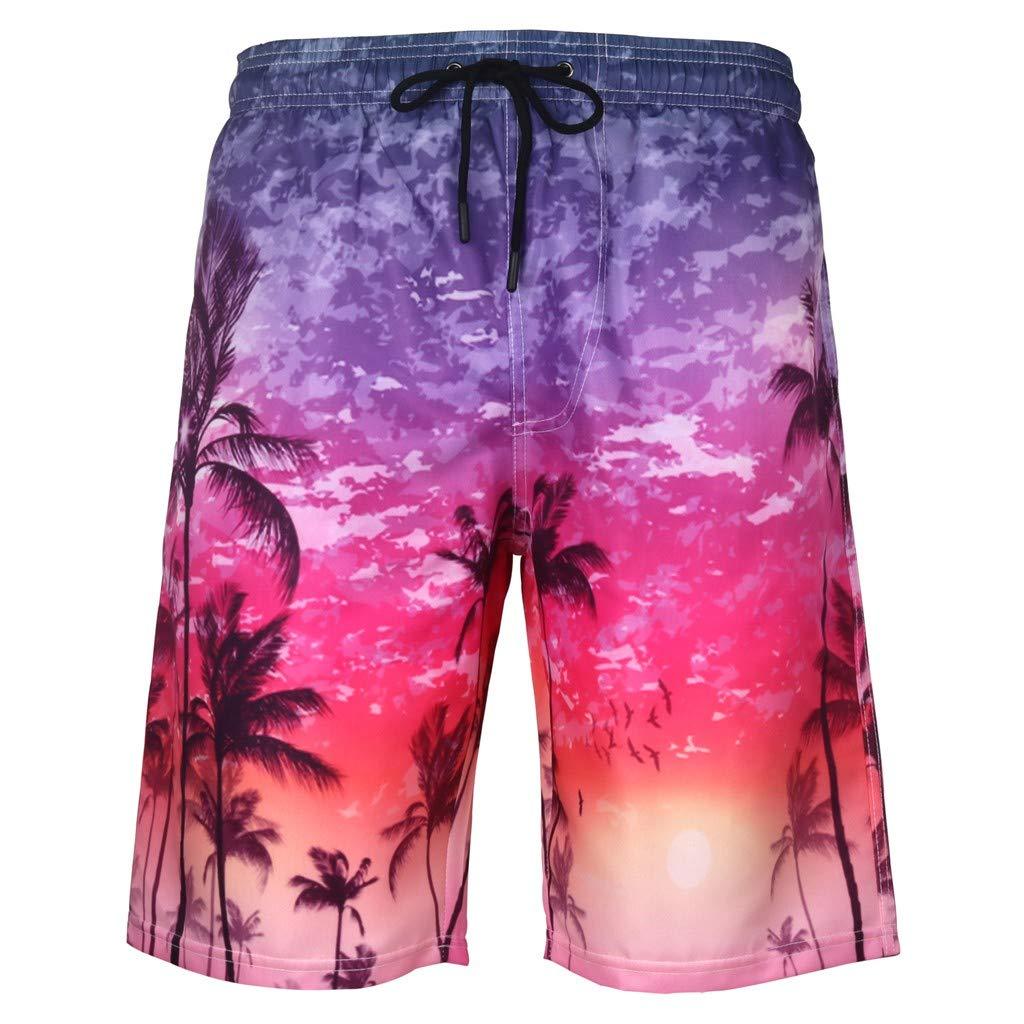 Alalaso Pantalones Cortos De Playa Con Gráfico De Estampado 3d Con Estampado 3d De Secado Rápido Para Hombres