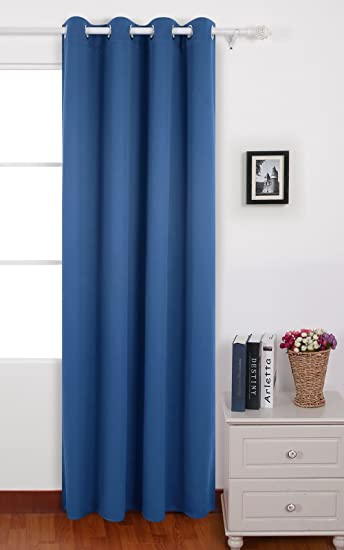 Amazon.com: Deconovo Thermal Blackout Grommet Window Curtain Panel ...