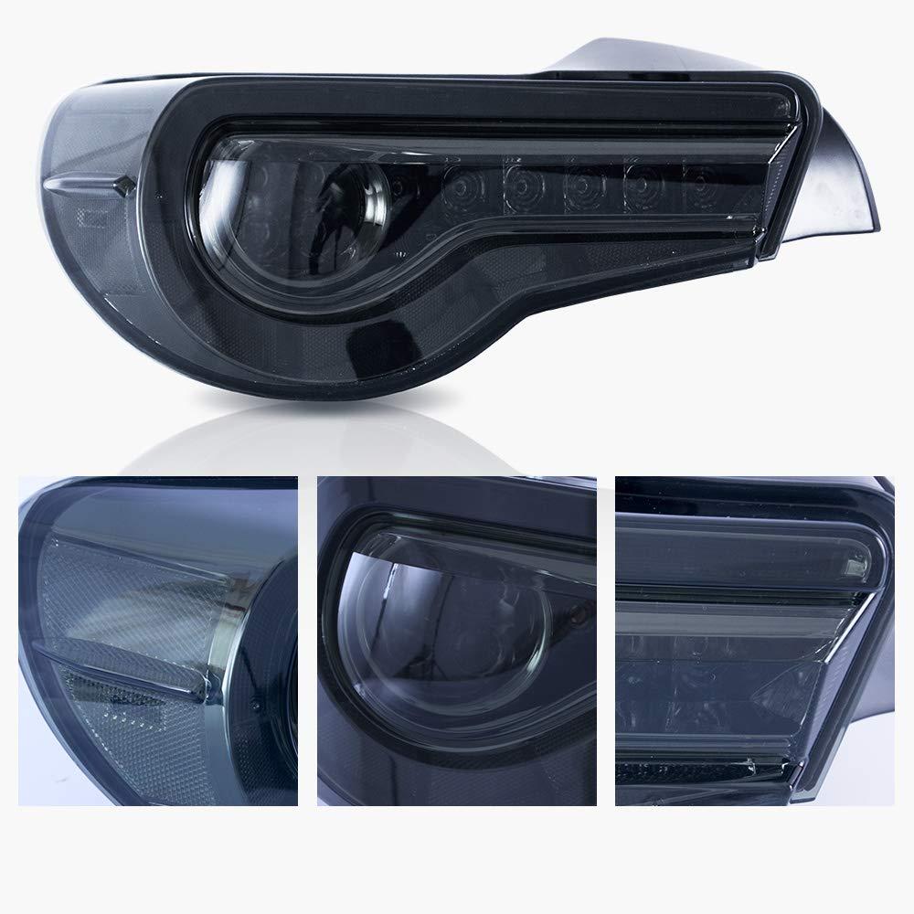 VLAND LED Luce posteriore per 2012-2019 GT86 FT86 2013-2018 BRZ fari posteriori con Dynamic