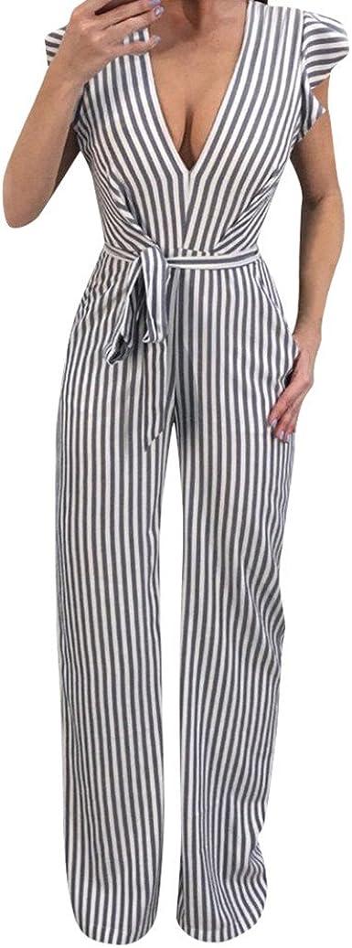 Monos Jumpsuit SUNNSEAN Playsuits Bodysuit Pantalones Mujer ...