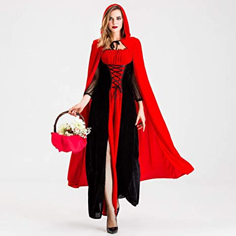 Amazon.com: Morecome Vintage Dress Women Lace Up Lace Cloak ...