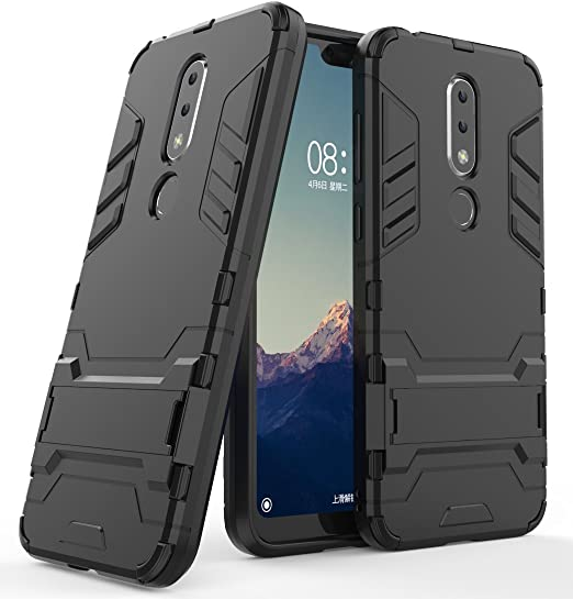 Mobiparts Mobiparts Essential TPU Case Nokia X6 (2018) zwart | 547x522