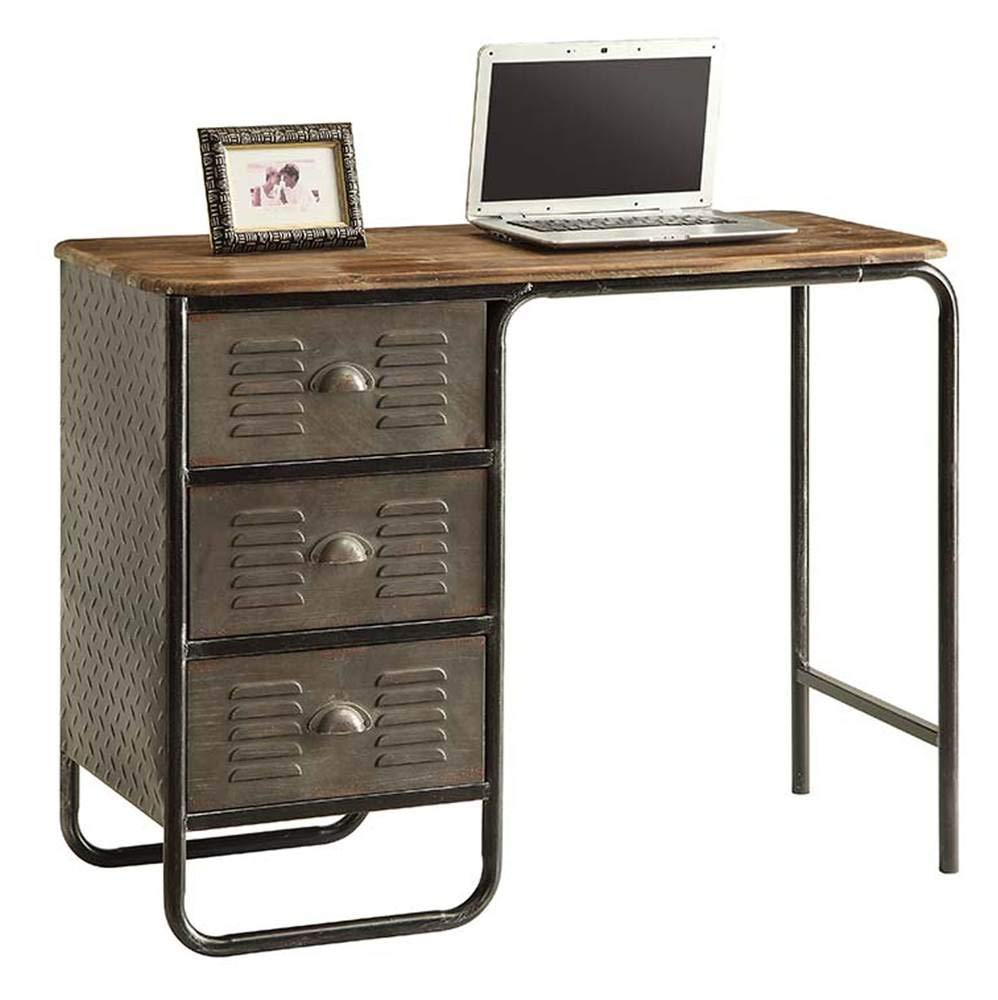 Desk in Black and Gray by 4D Concepts