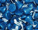 25 Lb Hershey Kisses Best Deals - HERSHEY'S KISSES Candy Dark Blue Foiled Milk Chocolate - Bulk Candy (25lb)