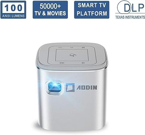 Amazon.com: AODIN Fusion - Mini proyector de televisión ...