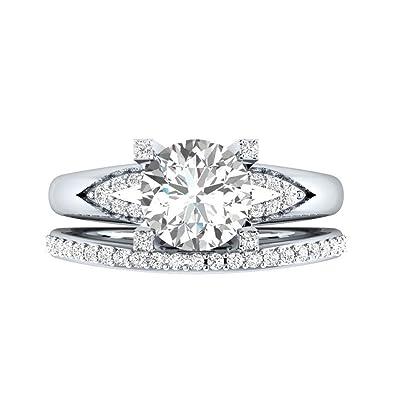 bague diamant femme
