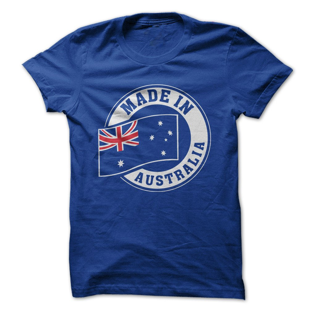 Made In Australia Funny Made On Demand In Usa 3841 Shirts