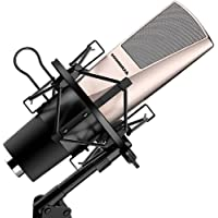 Oenbopo Professional Condenser Microphone with Mount stand & Anti-wind Cap