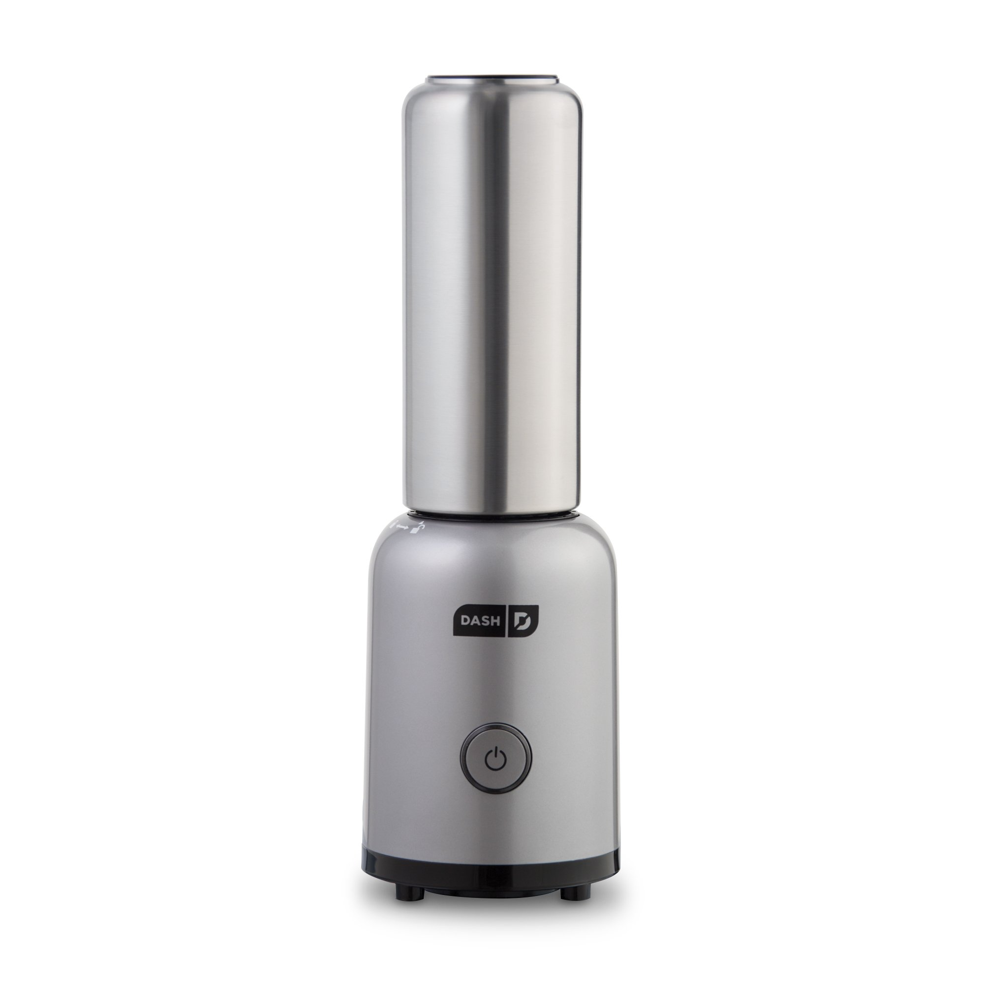 Dash Arctic Chill Blender: The Compact Personal Blender with Insulated Stainless-Steel Tumbler 16 oz + Travel Lid for Coffee Drinks, Frozen Cocktails, Smoothies