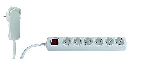 3 opinioni per REV Multiple Socket Smart 6-fold 2m white