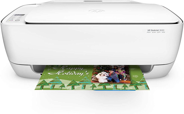 HP DeskJet 3630 Color Inkjet All-in-One Wireless Printer ...