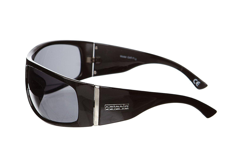 Catania Occhiali Sunglasses - New Season Collection - Ladies Fashion Sunglasses (UV400, UVA and UVB) Silhouette Vintage Wrap Model