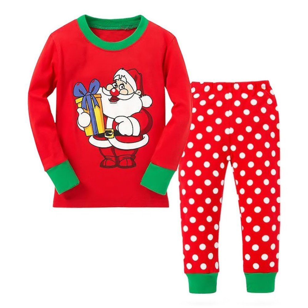 Blaward Kids Pyjamas Long Sleeve Christmas Newborn Clothing Set Comfortable Nightwear Sleepwear Clothes for Autumn Winter
