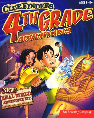 ClueFinders 4th Grade Adventures: Puzzle of the Pyramid 611CTXMT7JL