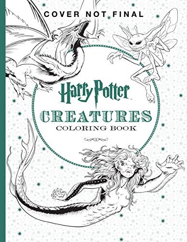 Harry Potter Creatures Coloring Book – HPB