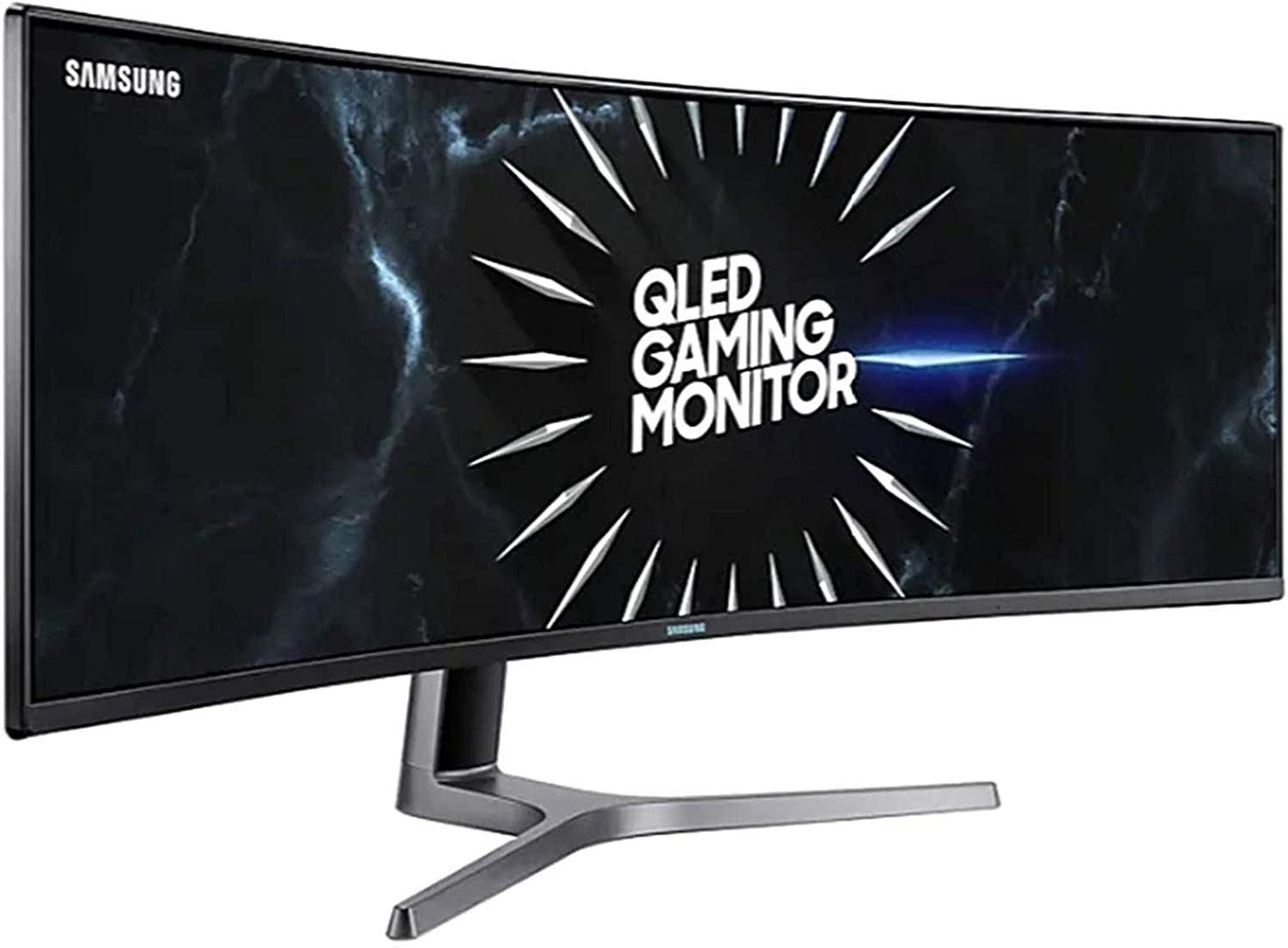 Amazon Com C49rg90 Qled Super Ultra Wide Gaming Monitor With Dual Qhd 5120 X 1440 Computers Accessories