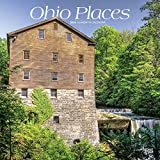 Ohio Places 2020 12 x 12 Inch Monthly Square Wall Calendar, USA United States of America Midwest State Nature