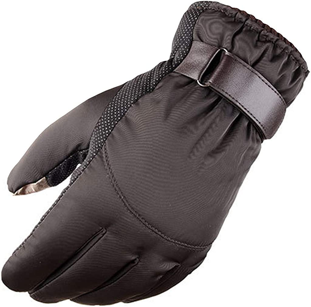 Ski Gloves Winter Waterproof Gloves Warm Touch Screen Windproof Mountain Climbing Outdoor Snow Gloves for Men