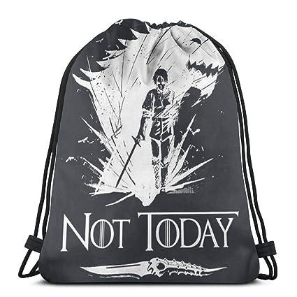 Not Today Arya - Mochila con cordón para Ventilador, para ...
