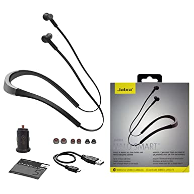 "33a70ddf034 Jabra Halo Smart OTE28 Wireless Neckband Stereo Headset ""Wind  -Noise-Cancellation IP54"""