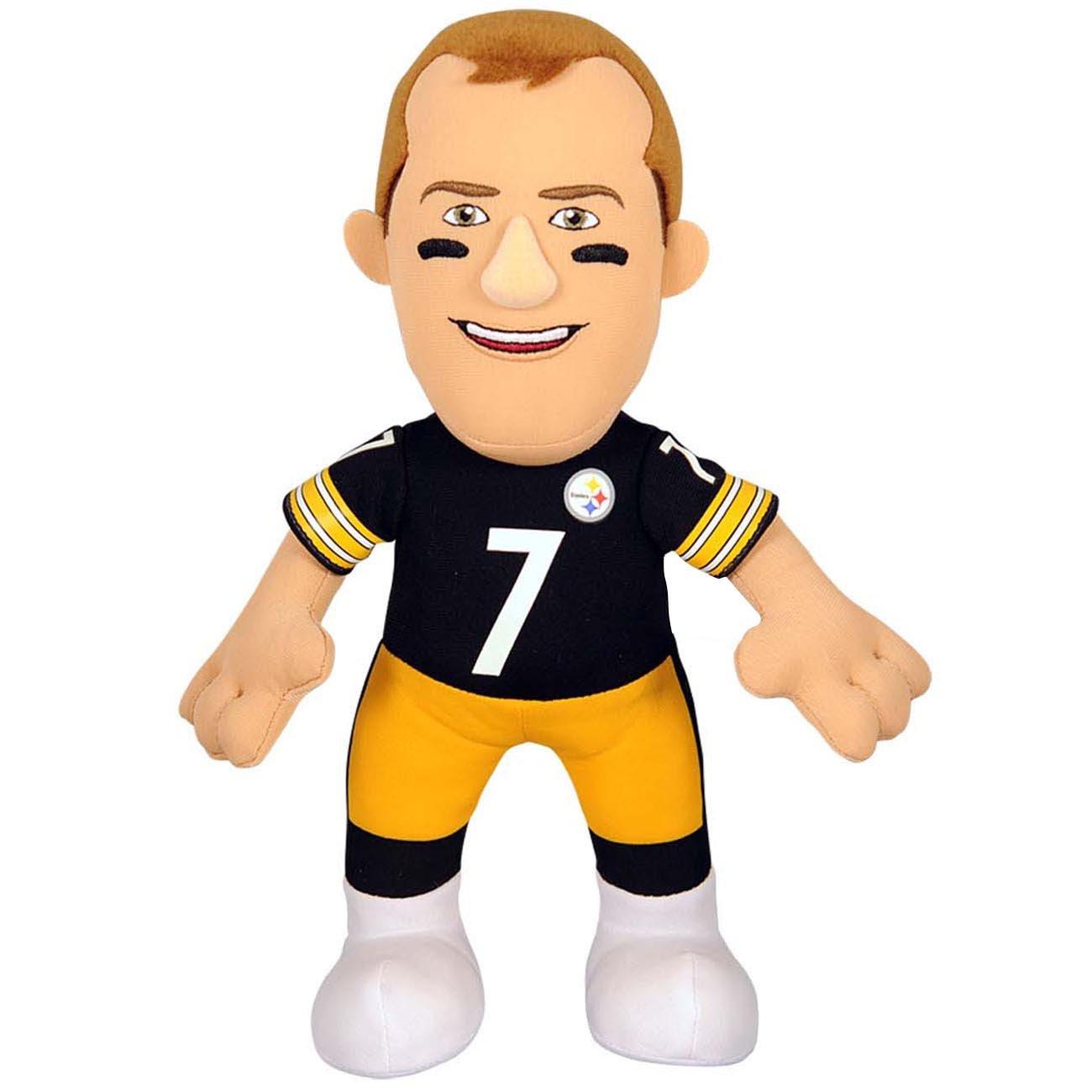 Bleacher Creatures Ben Roethlisberger Pittsburgh Steelers NFL Plüsch Figur EPLUNFLP10STEBRO
