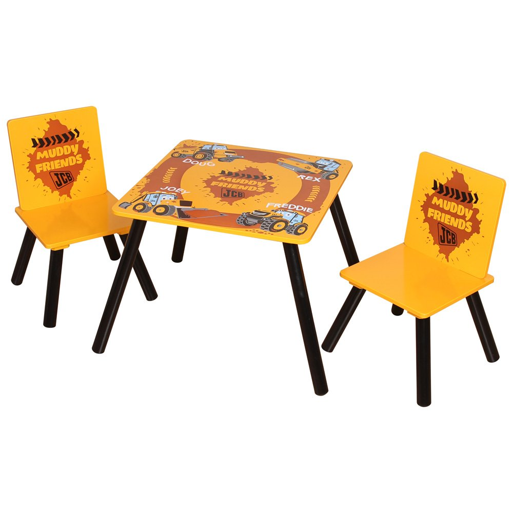 Kidsaw JCB Table and 2 Chairs JCBTC