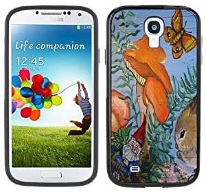 Gnome Forest Handmade Samsung Galaxy S4 Black Bumper Hard Plastic Case