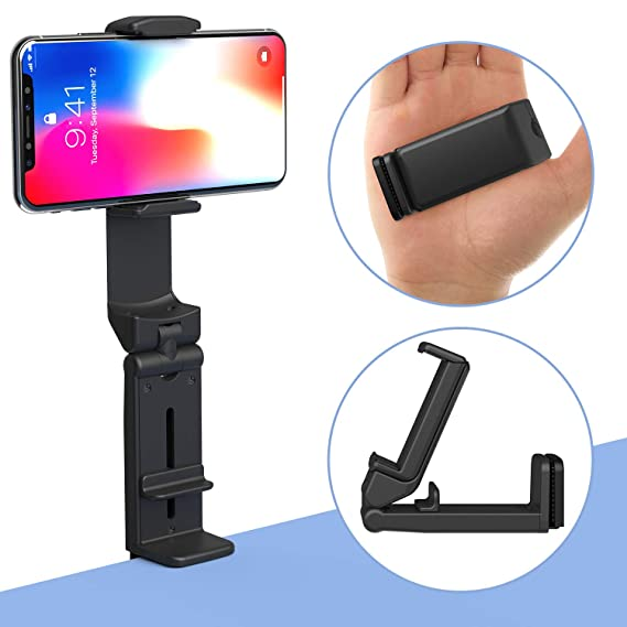 Peachy Phone Stand Miikare Universal Mount Phone Holder 360 Degree Rotating Adjustable Phone Clamp Compatible With Iphone X Xs Xr 8Plus Android Phones Download Free Architecture Designs Meptaeticmadebymaigaardcom