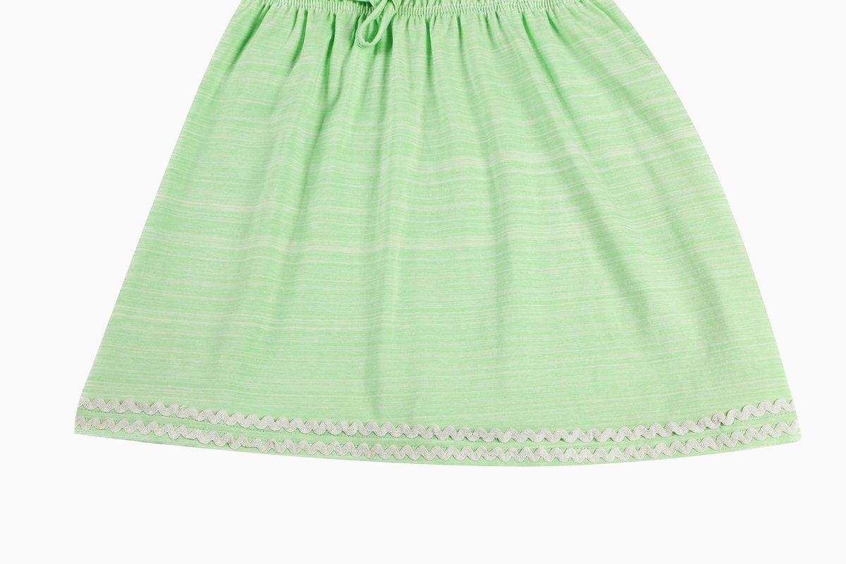 2d2b869fe Bonny Billy Big Girls Spaghetti Straps Solid Cotton Kid Beach Dress ...