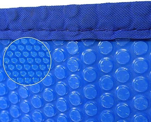Cobertor Solar para Piscinas Manta Solar Rectangular For Piscina sobre Suelo, Cubierta Solar For Piscina Tapada con Arandelas, 16mil, Azul (Size : 2×3m): Amazon.es: Hogar