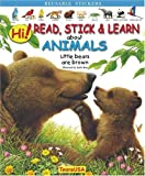 Hi! Read, Stick and Learn about Animals. Little Bears are Brown, Andre Boos, Emmanuelle Fojit, 1594960038