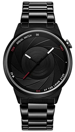 clock man sport com amazon creative for leather inspired dp watch enthusiast quartz watches unique men car automotive