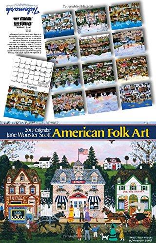 American Folk Art 2015 - Folk Wall 2015 Calendars Art