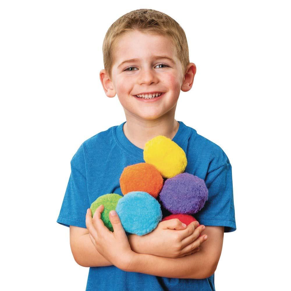 Color Splash!A 3 Pom Pom Assortment Pack of 48